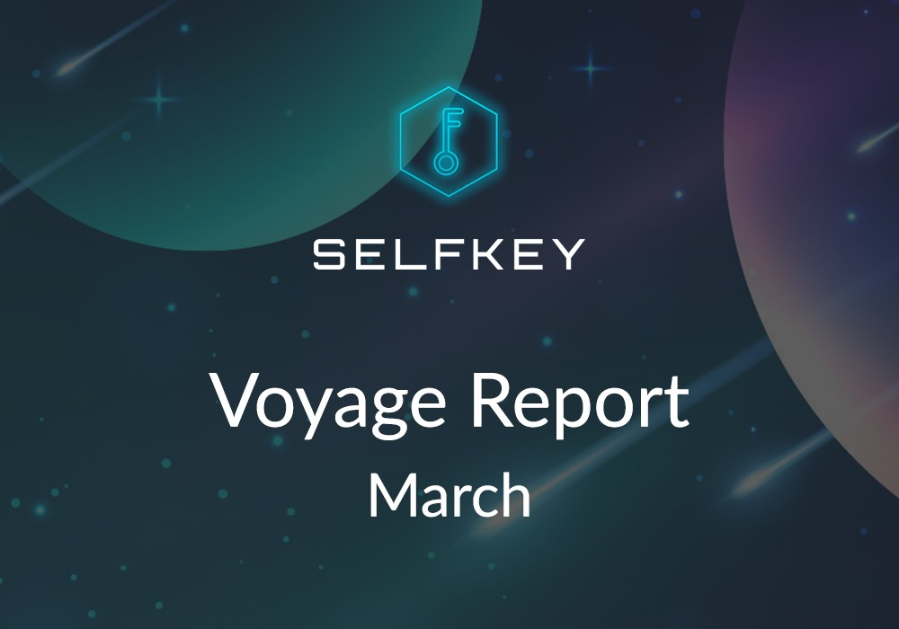 SelfKey Voyage Report March