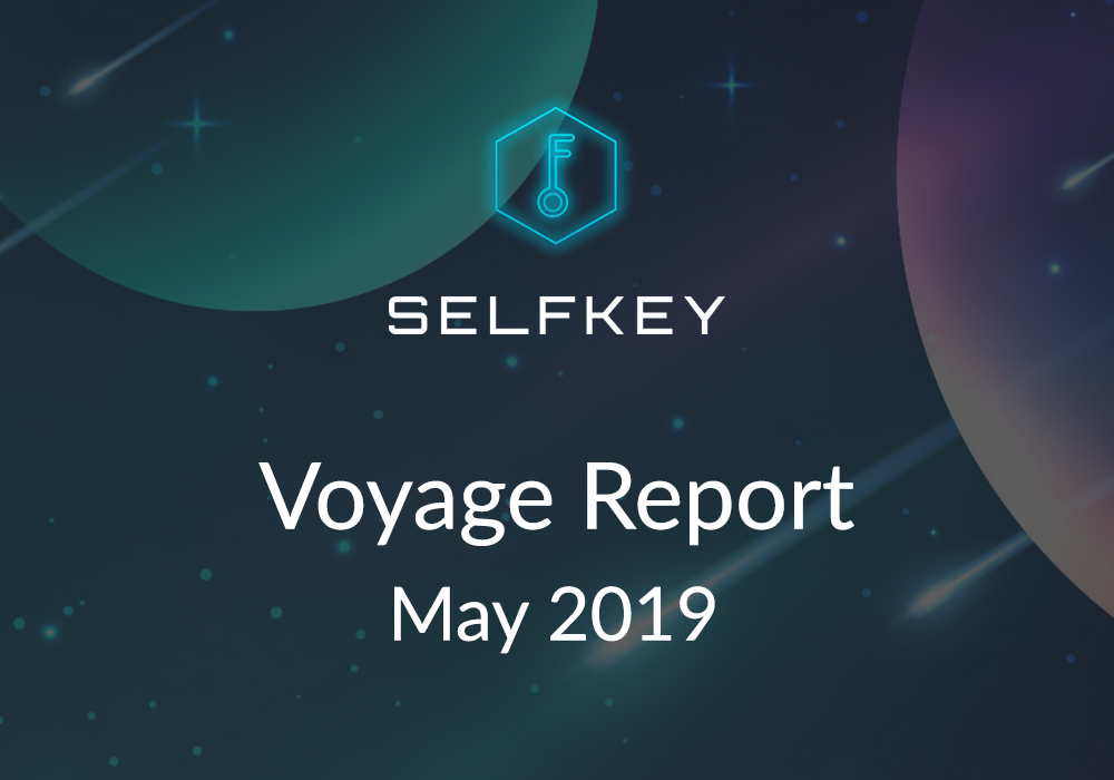 SelfKey May 2019 Voyage Report