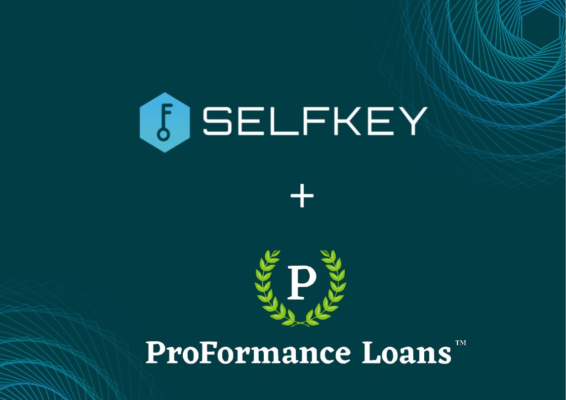 Selfkey+Proformance loans logo