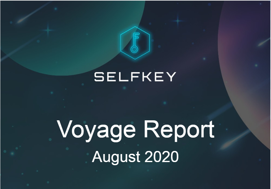 SelfKey Voyage Report - August 2020