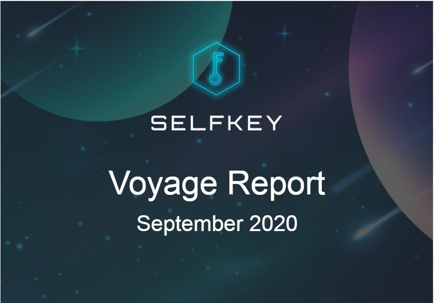 SelfKey Progress Report Sep 2020