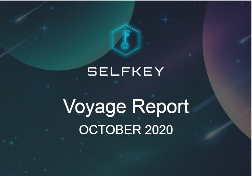 Progress Report October 2020