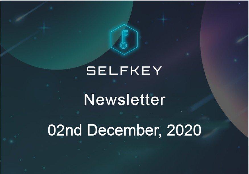 SelfKey Newsletter - KEY Airdrop