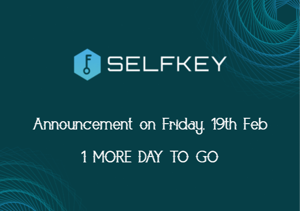 SelfKey Newsletter Announcement