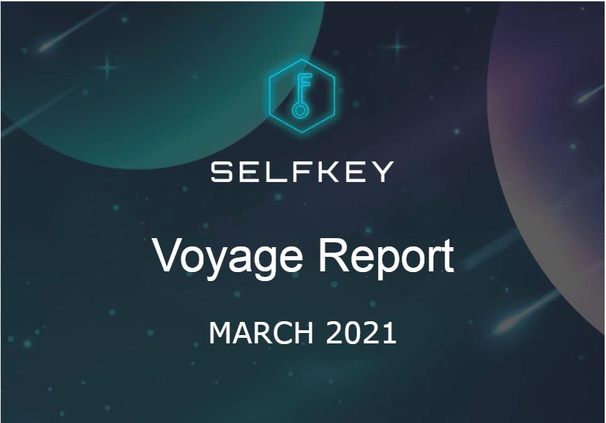 SelfKey Progress Report March 2021