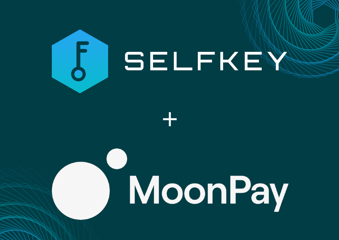 Buy Sell cryptocurrencies SelfKey Moonpay