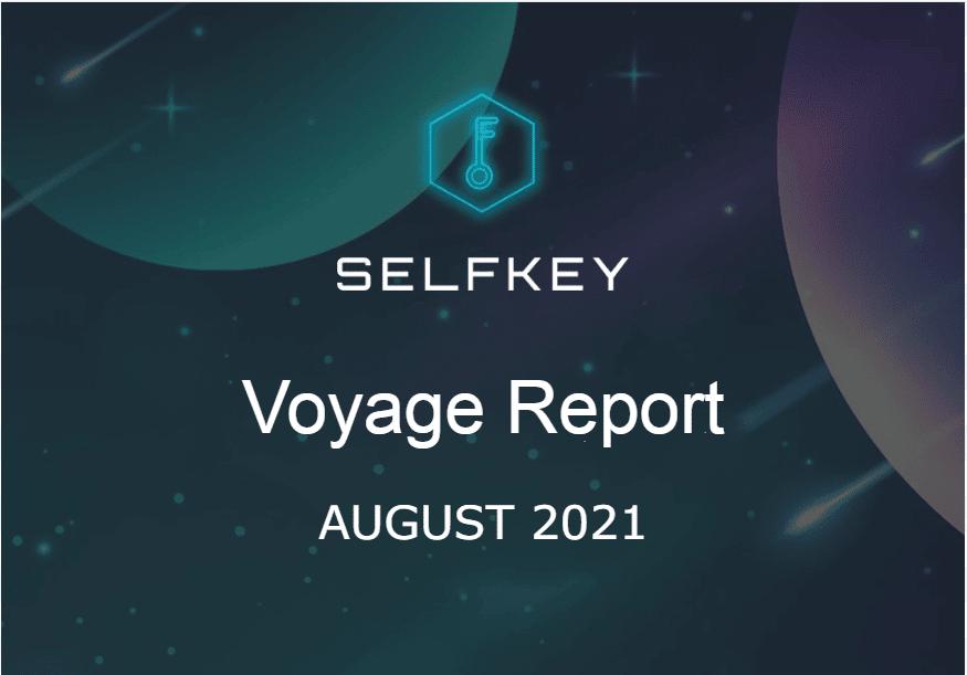 SelfKey Progress report August 2021