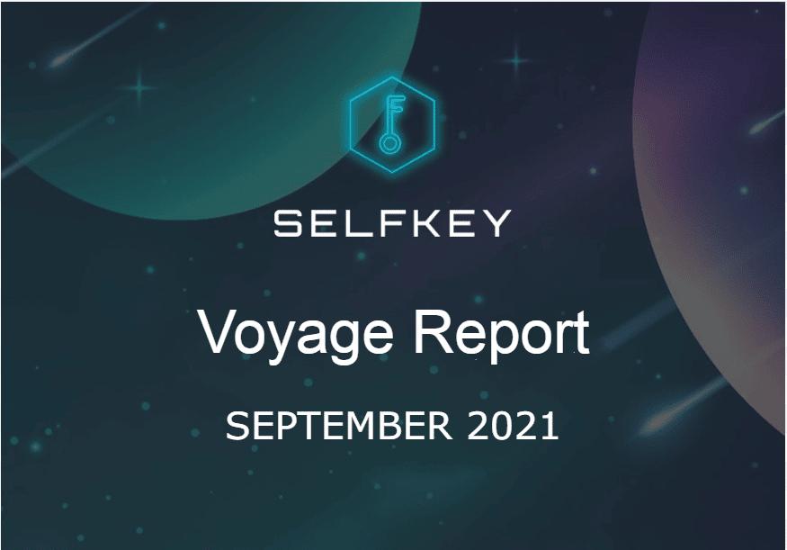 SelfKey Progress Report September